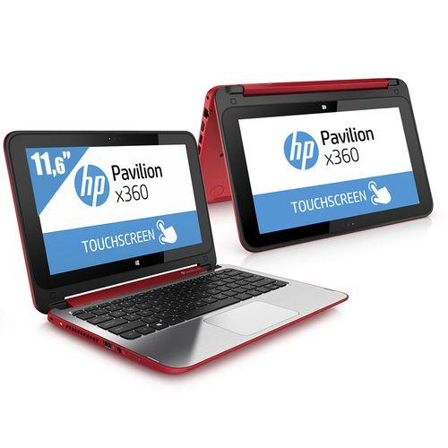 comparer les prix du hp pavilion x360 11 n083nf rouge. Black Bedroom Furniture Sets. Home Design Ideas