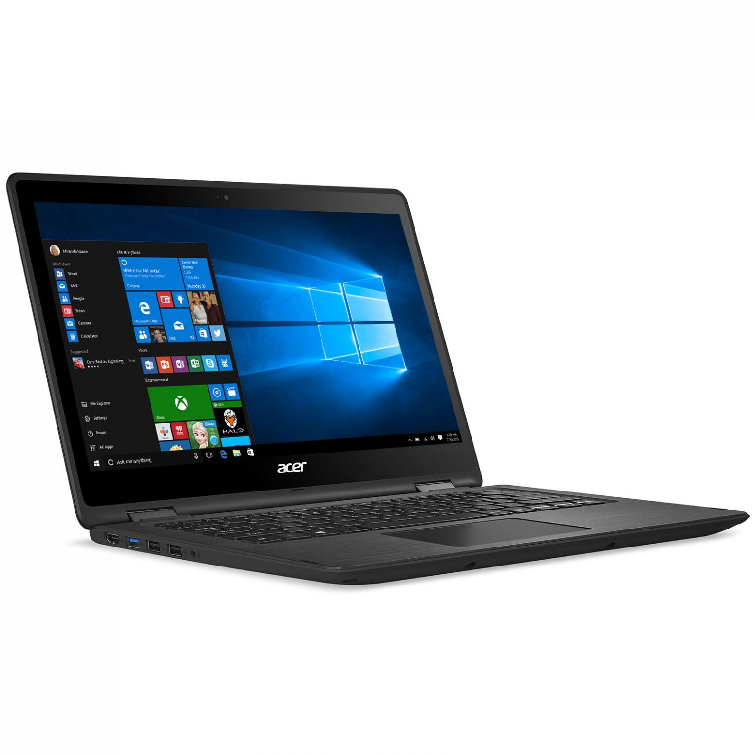 Image du PC portable Acer Spin SP513-51-57EJ Noir tactile