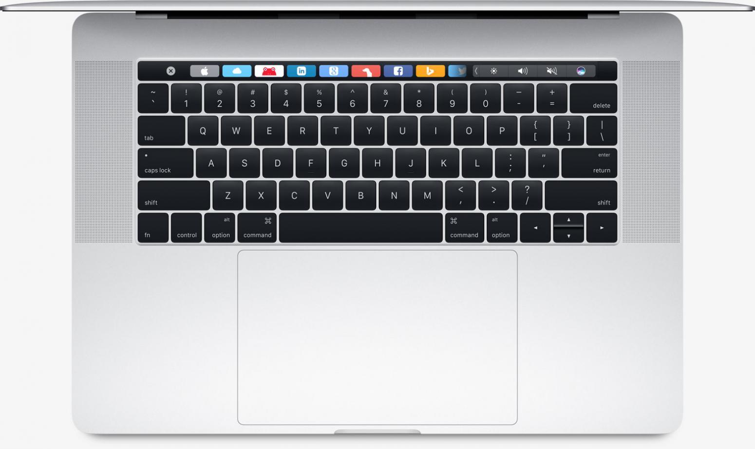 apple macbook pro retina 15 avec touch bar 2016 les. Black Bedroom Furniture Sets. Home Design Ideas