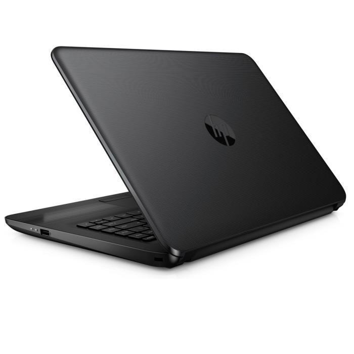 promo hp 14 am023nf pc portable 14 pouces bureautique noir 199 laptopspirit. Black Bedroom Furniture Sets. Home Design Ideas