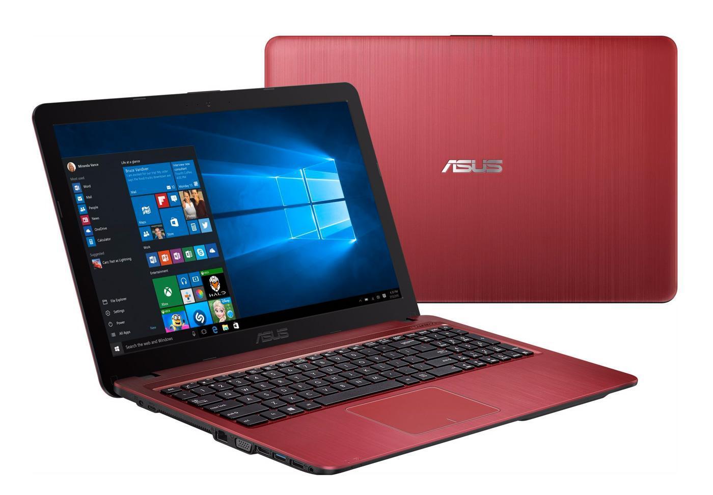 asus x541ua xx532t pc portable 15 pouces rouge bureautique i5 skylake 499 laptopspirit. Black Bedroom Furniture Sets. Home Design Ideas