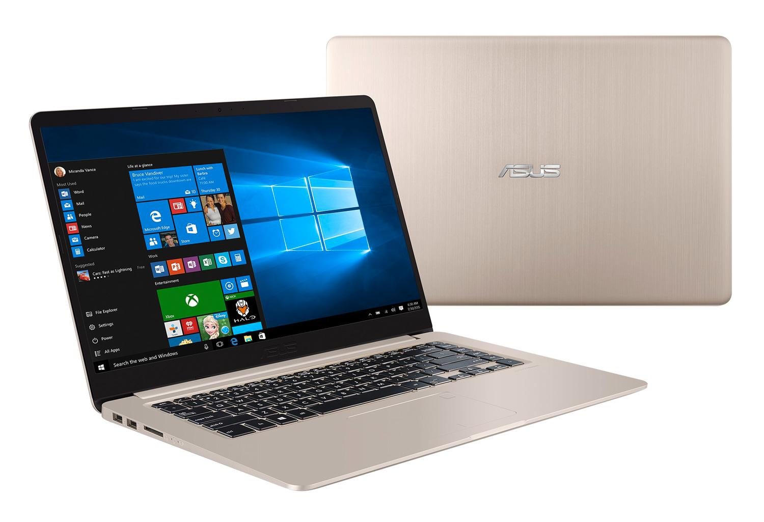 Ordinateur portable Asus VivoBook S510UQ-BQ166T Gold - SSD - photo 1