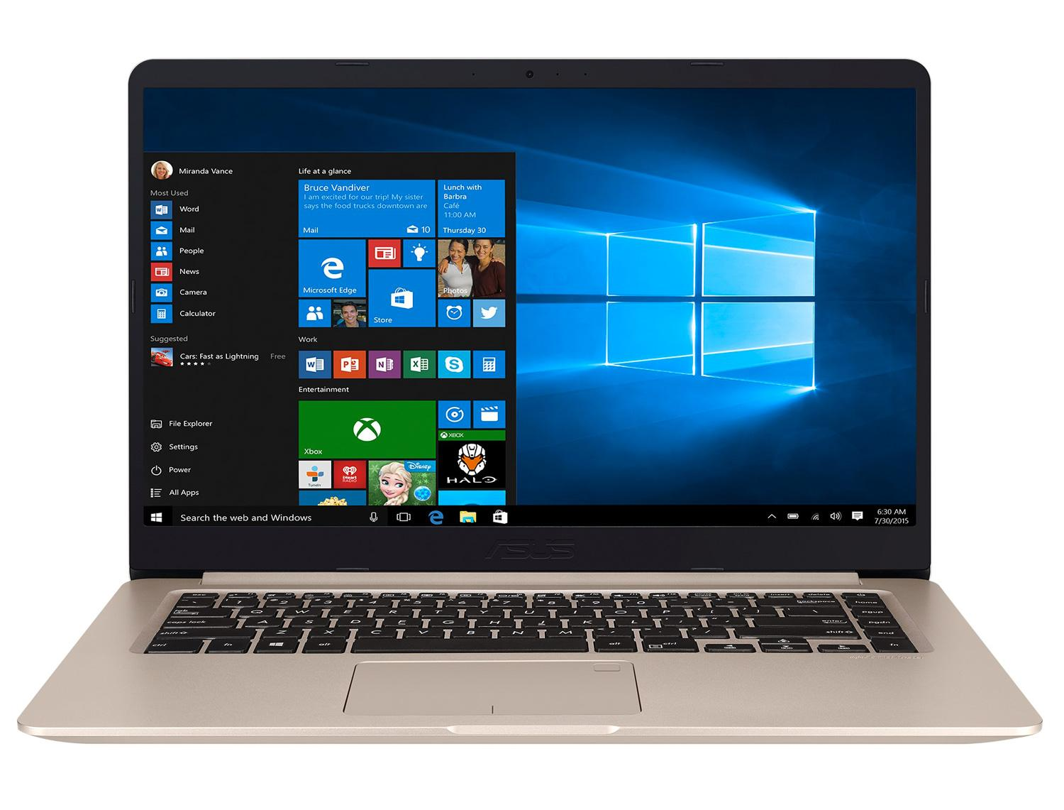 Ordinateur portable Asus VivoBook S510UQ-BQ166T Gold - SSD - photo 5