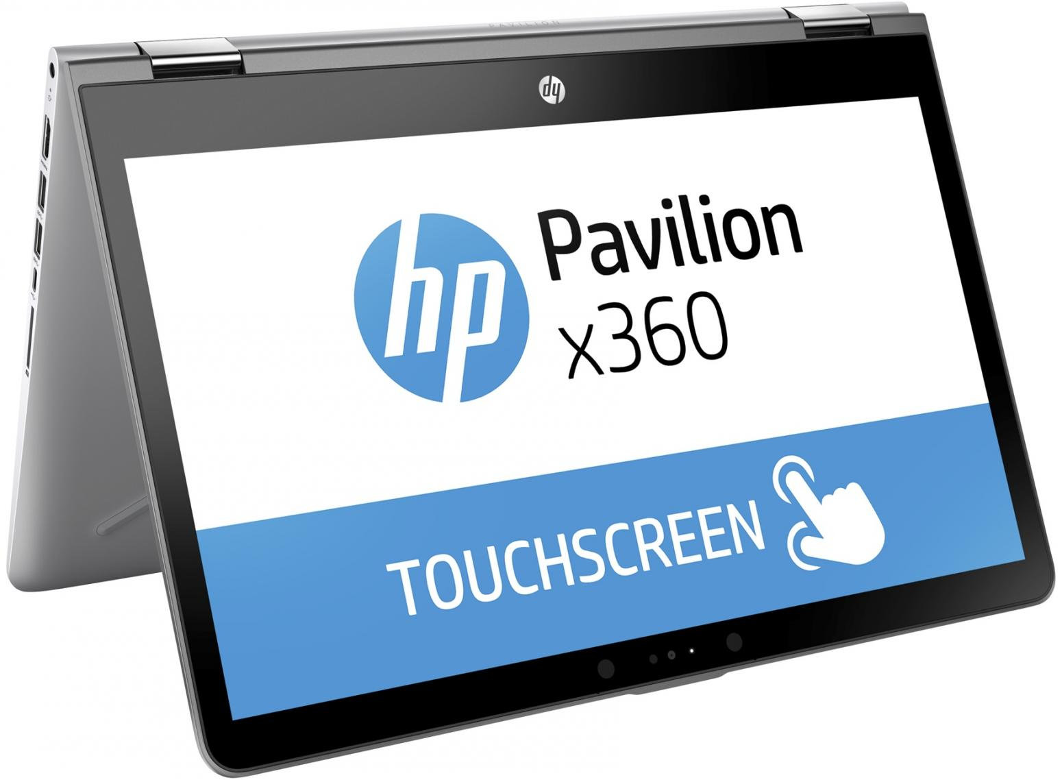 Ordinateur portable HP Pavilion x360 14-ba034nf SSD Argent Tactile IPS - photo 3