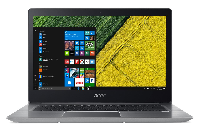Image du PC portable Acer Swift 3 SF314-52G-55PA Argent