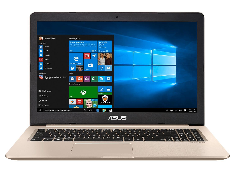 Ordinateur portable Asus VivoBook Pro N580GD-FI228T Or - 4K IPS, GTX 1050, 2.5 To - photo 2