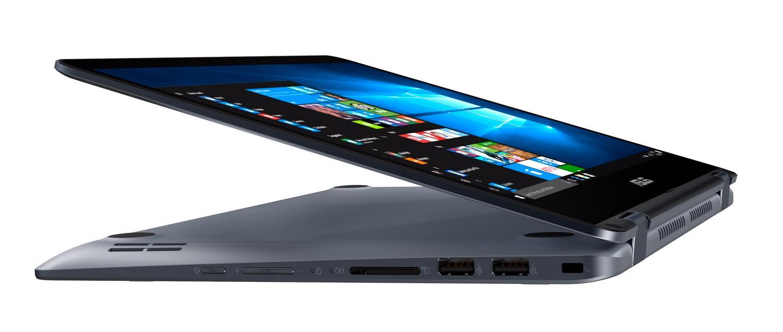 Ordinateur portable Asus VivoBook Flip TP410UA-EC241T tactile Grey Metal  - photo 2