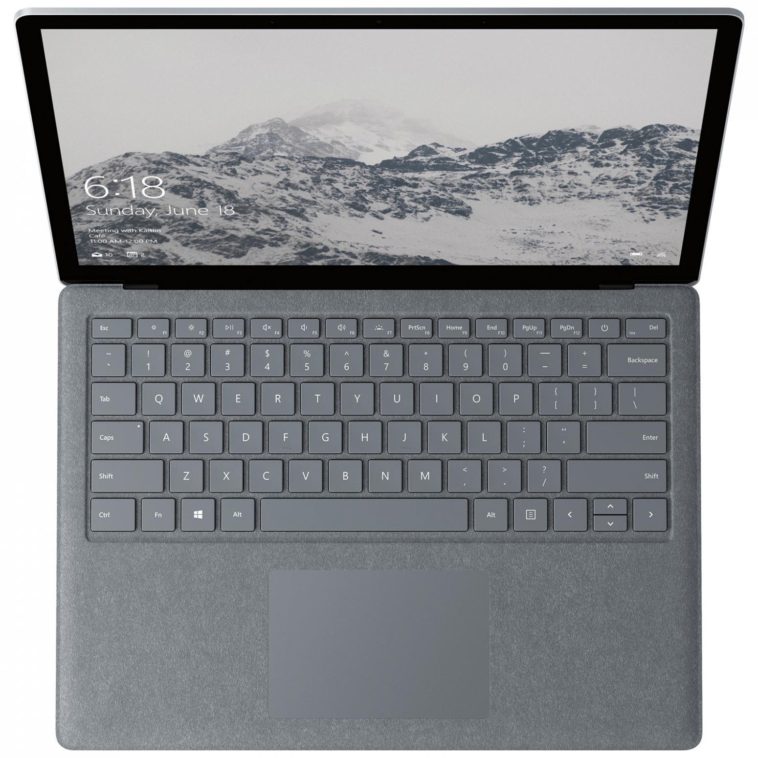 Image du PC portable Microsoft Surface Laptop - Core i5, 8 Go, 128 Go tactile
