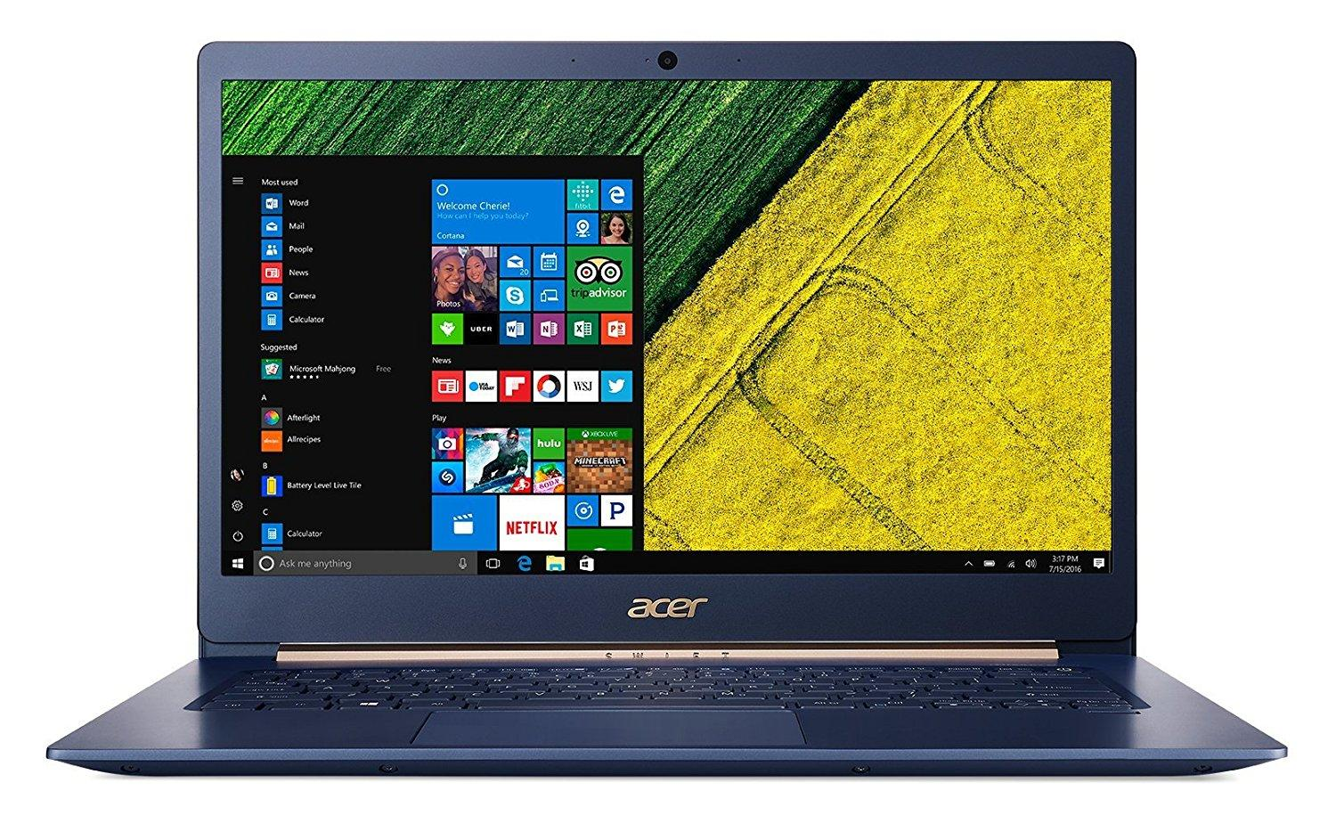 Ordinateur portable Acer Swift 5 SF514-52T-56JV Bleu Tactile - photo 2