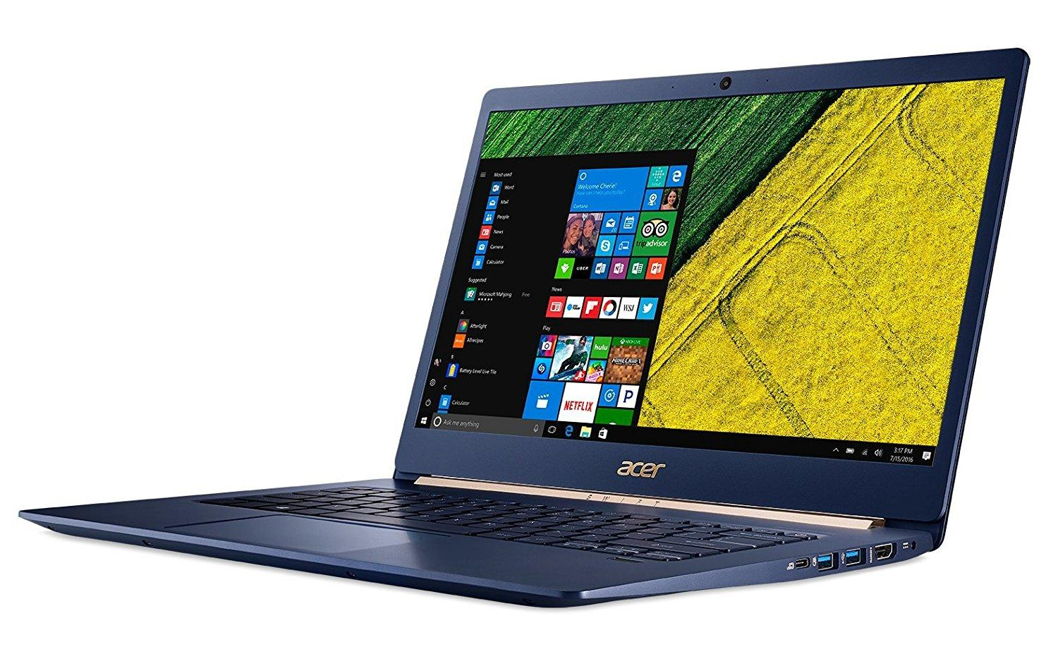 Ordinateur portable Acer Swift 5 SF514-52T-56JV Bleu Tactile - photo 4