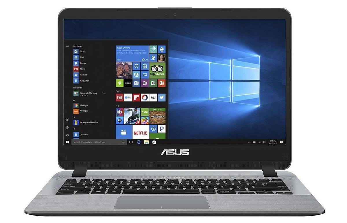 Image du PC portable Asus X407MA-EB129T Gris - Gemini Lake