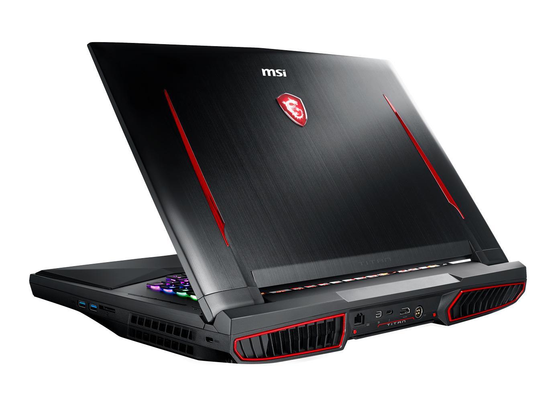 Ordinateur portable MSI GT75 8RF-091FR Titan - SLI GTX 1070, 4K IPS, i9 - photo 3