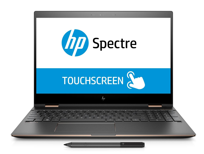 Ordinateur portable HP Spectre x360 15-ch000nf Cendre 4K tactile - MX150 - photo 3