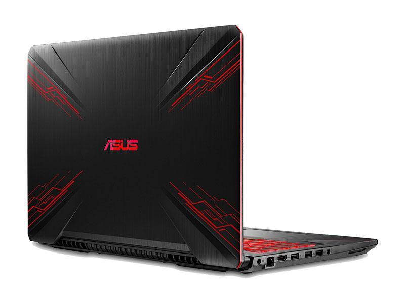 Image du PC portable Asus TUF FX504GD-E4636T Noir - GTX 1050
