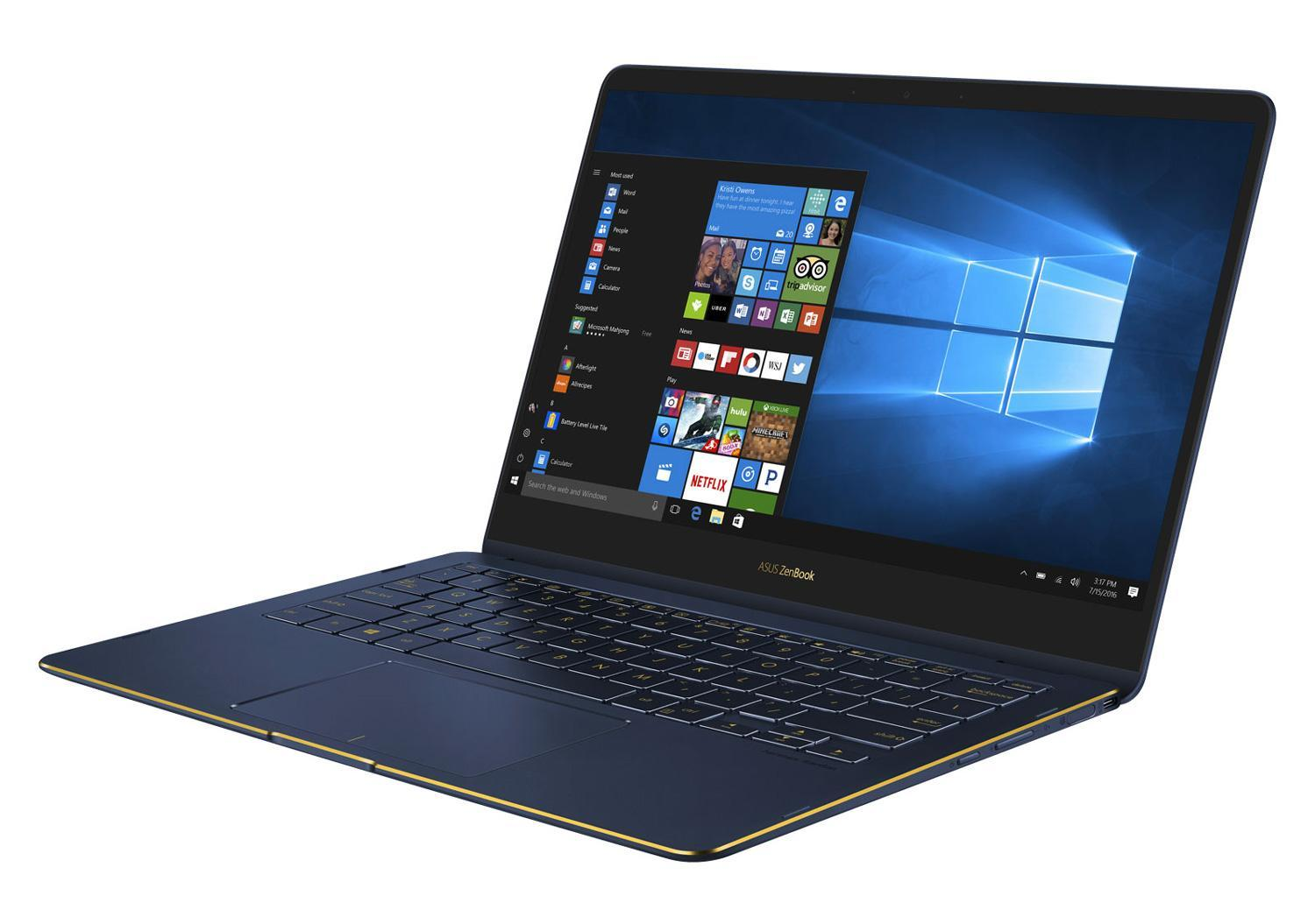 Ordinateur portable Asus ZenBook Flip S UX370UA-EA384T Noir SSD tactile 4K - photo 3