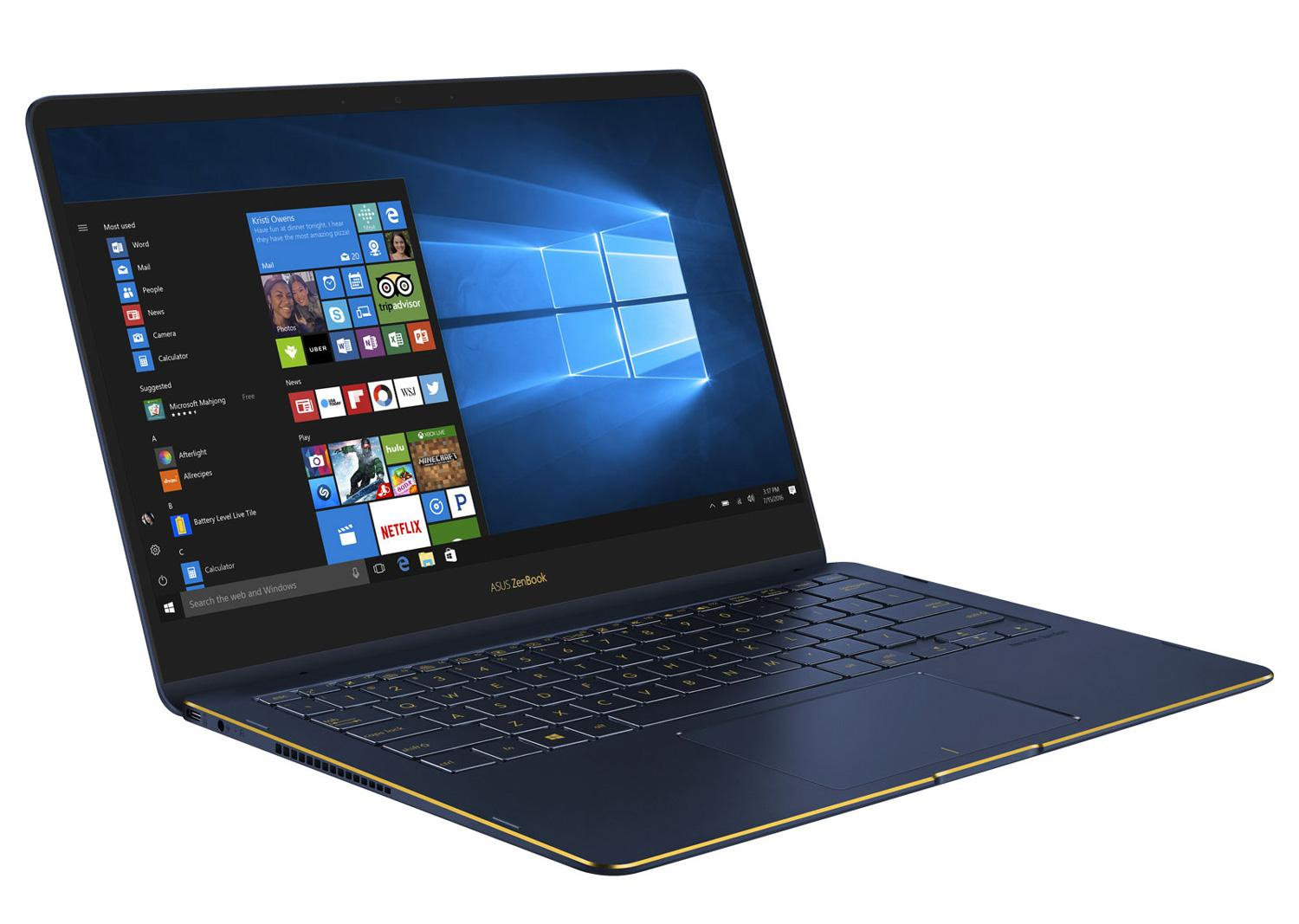 Ordinateur portable Asus ZenBook Flip S UX370UA-EA384T Noir SSD tactile 4K - photo 4