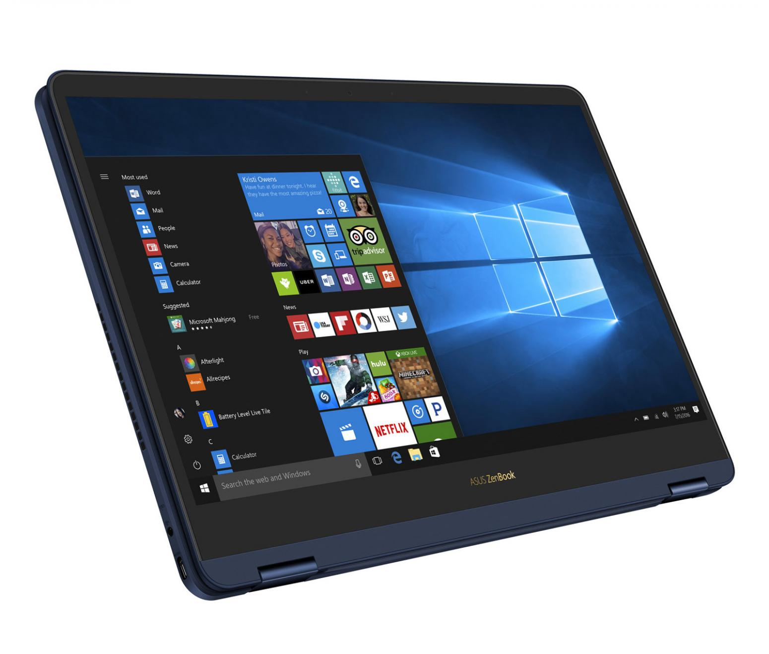 Ordinateur portable Asus ZenBook Flip S UX370UA-EA384T Noir SSD tactile 4K - photo 6