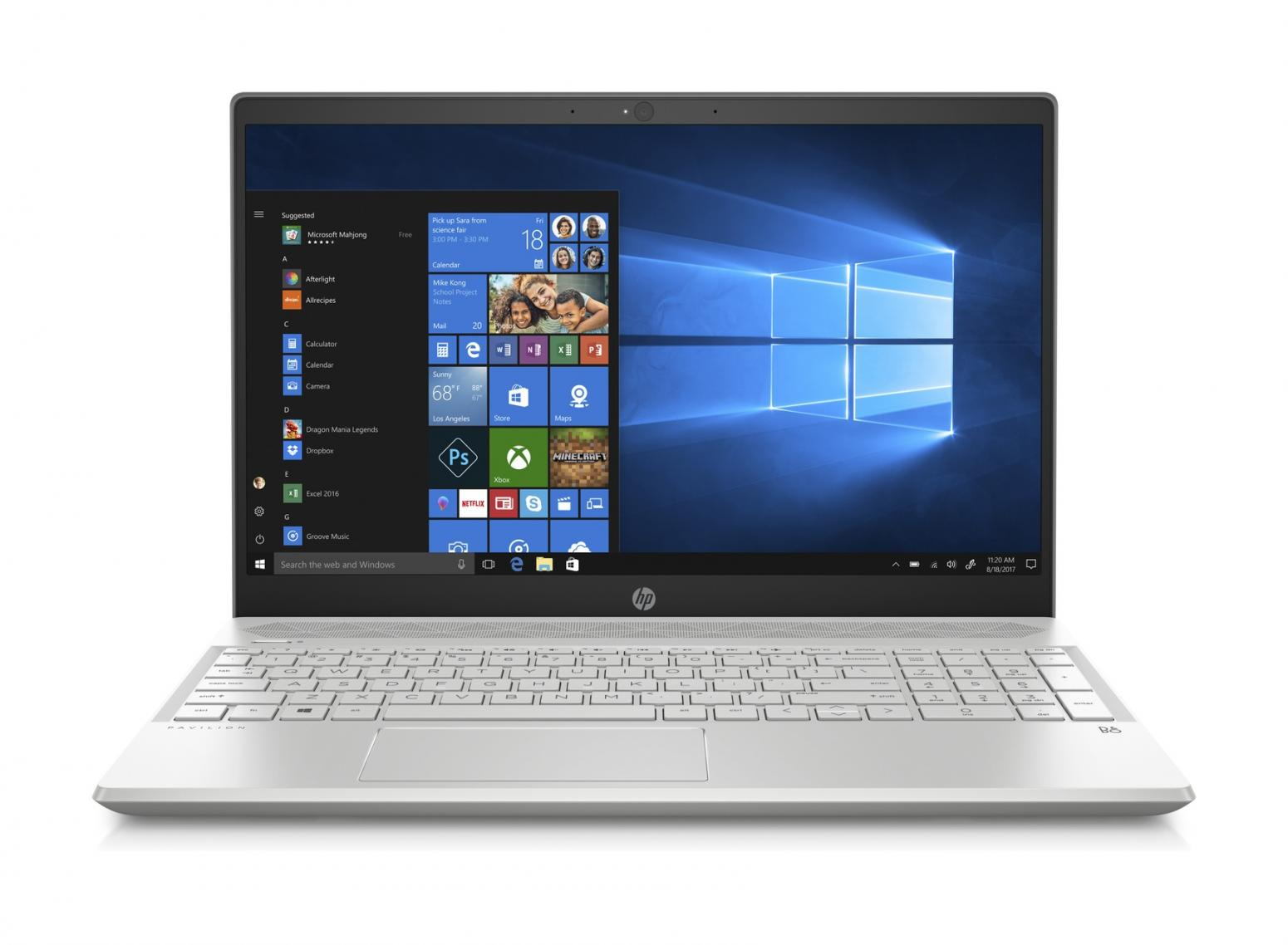 Ordinateur portable HP Pavilion 15-cs3020nf Argent - RAM 16 Go, Wi-Fi ax - photo 2