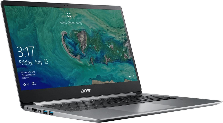 Ordinateur portable Acer Swift 1 SF114-32-P3BW Argent - Gemini Lake SSD IPS - photo 3