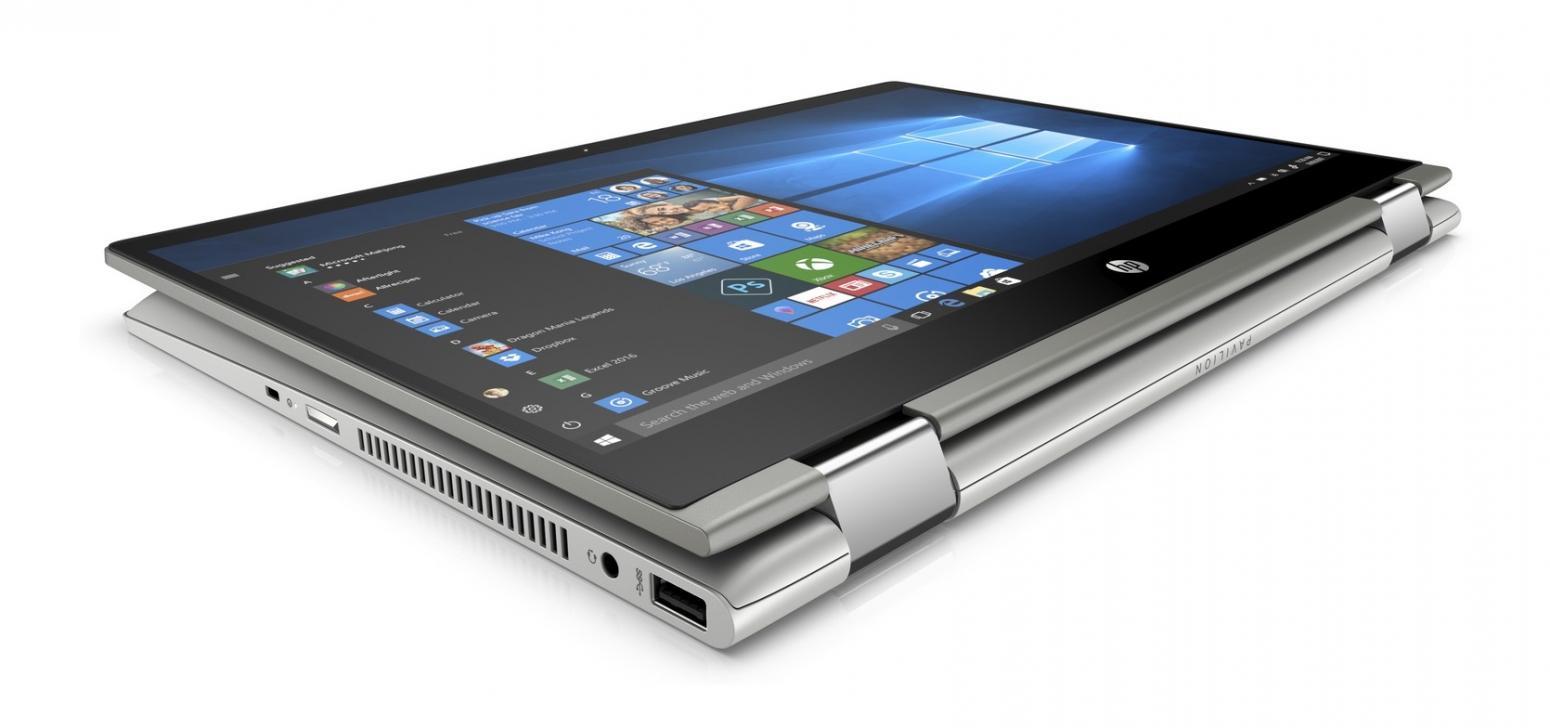 Ordinateur portable HP Pavilion x360 14-cd0001nf Gris - Tactile IPS SSD - photo 2