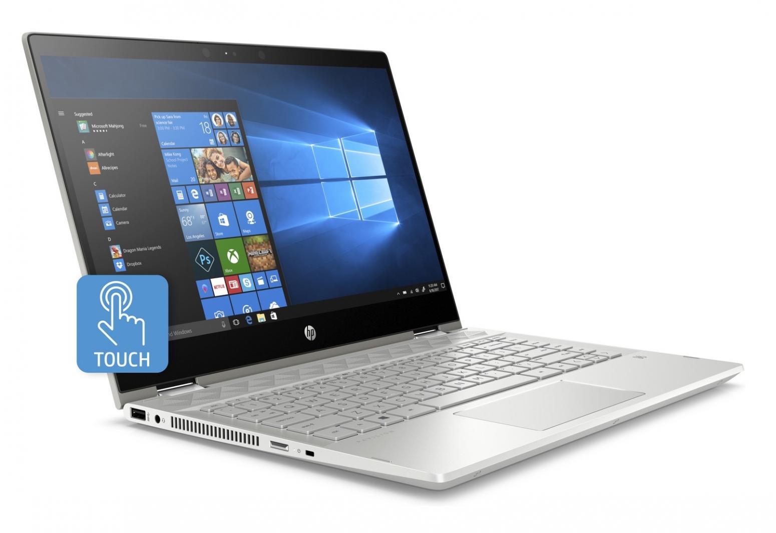 Ordinateur portable HP Pavilion x360 14-cd0001nf Gris - Tactile IPS SSD - photo 4