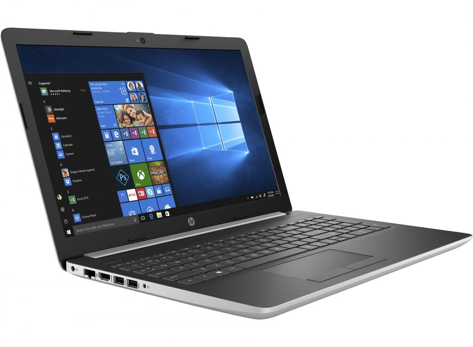 Image du PC portable HP 15-db0063nf Argent/Noir - AMD Ryzen 5 SSD