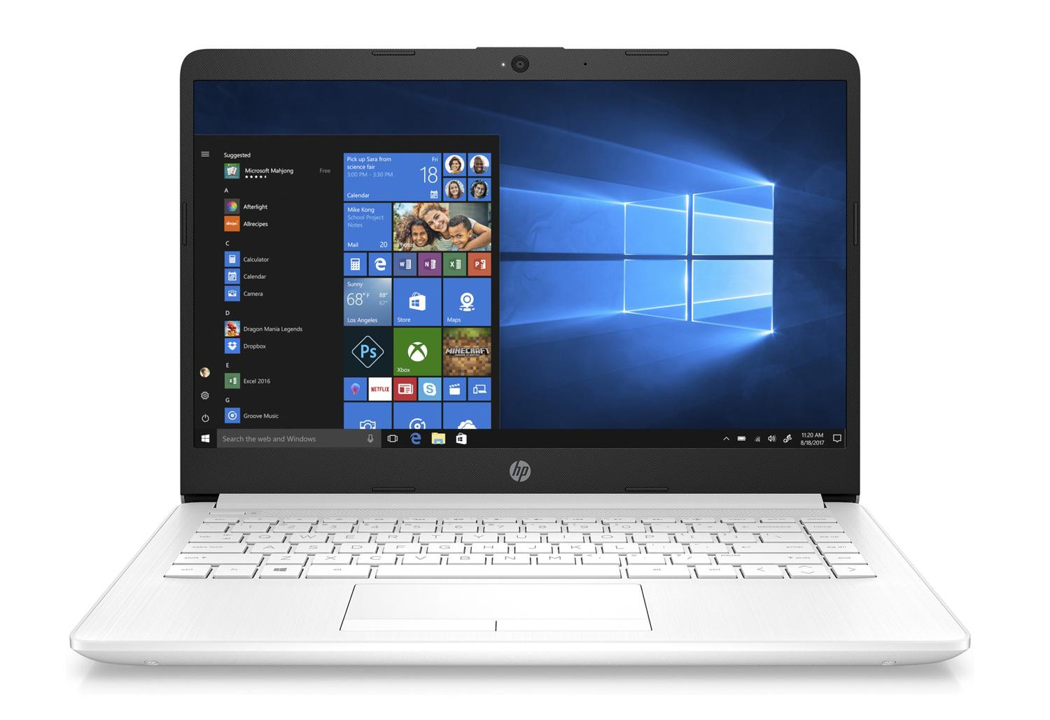 Image du PC portable HP 14-cf1004nf Blanc - SSD