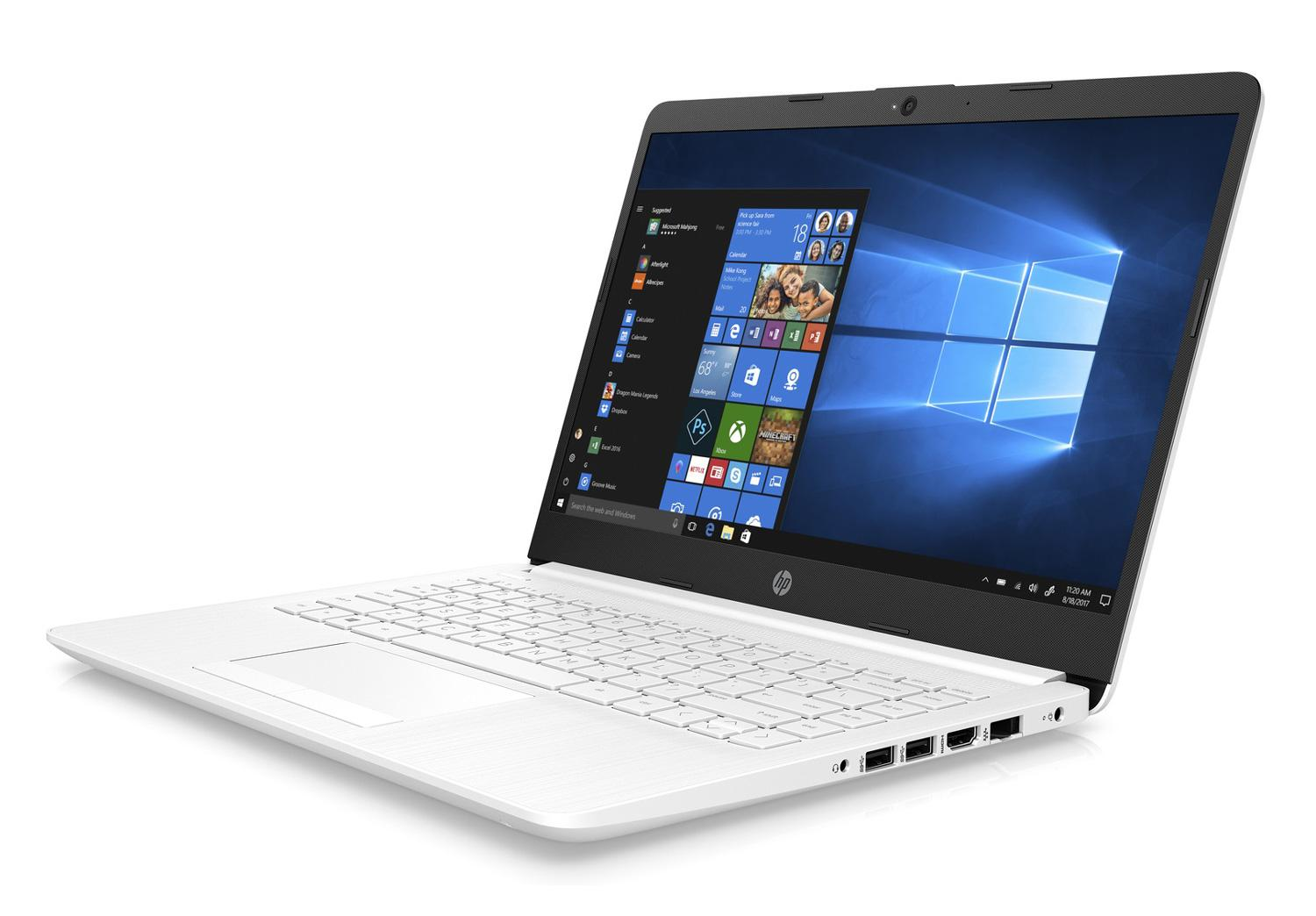 Ordinateur portable HP 14-cf1004nf Blanc - SSD - photo 3
