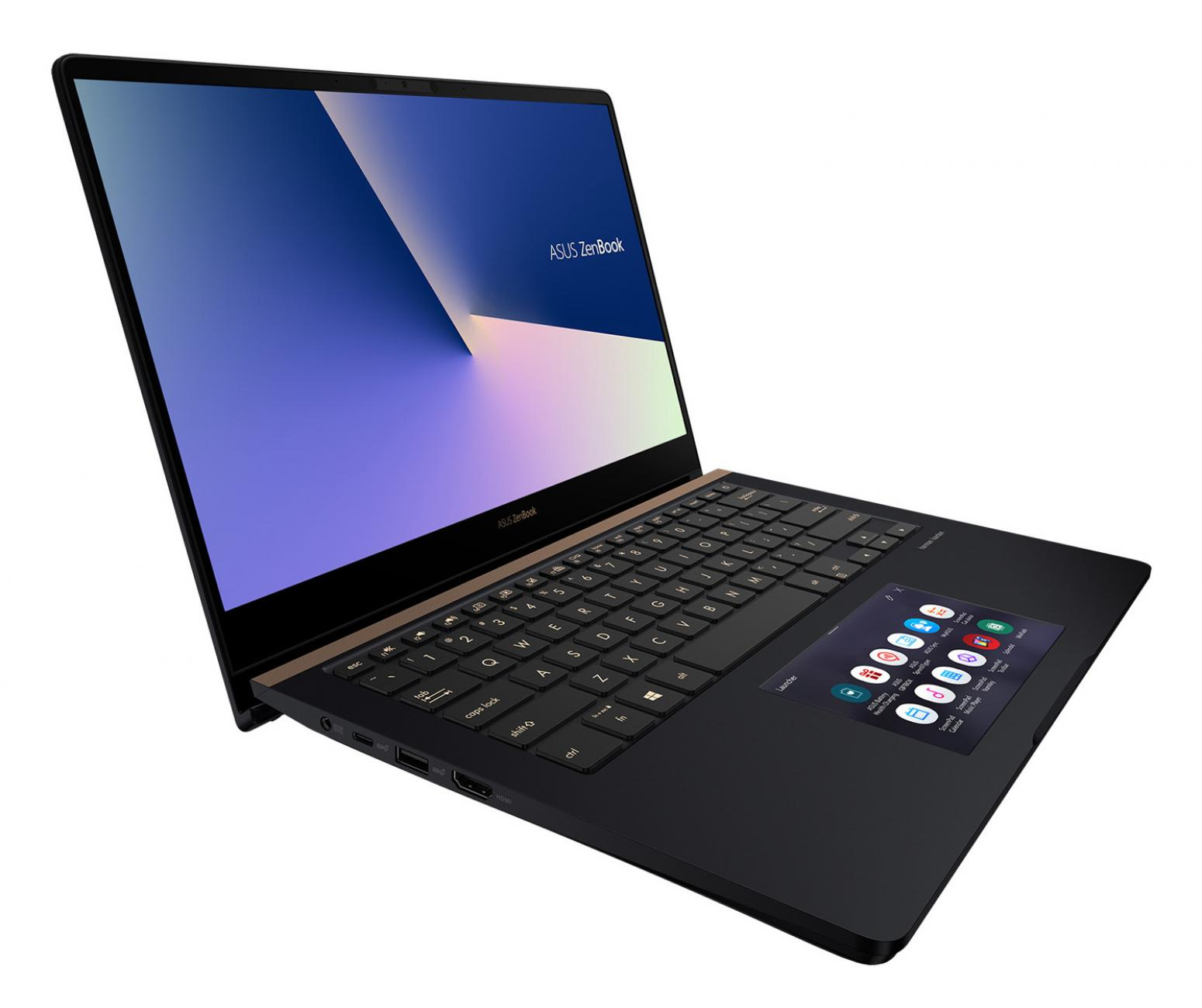 Image du PC portable Asus ZenBook Pro UX480FD-BE068T - GTX 1050 Max-Q, ScreenPad, Whiskey Lake