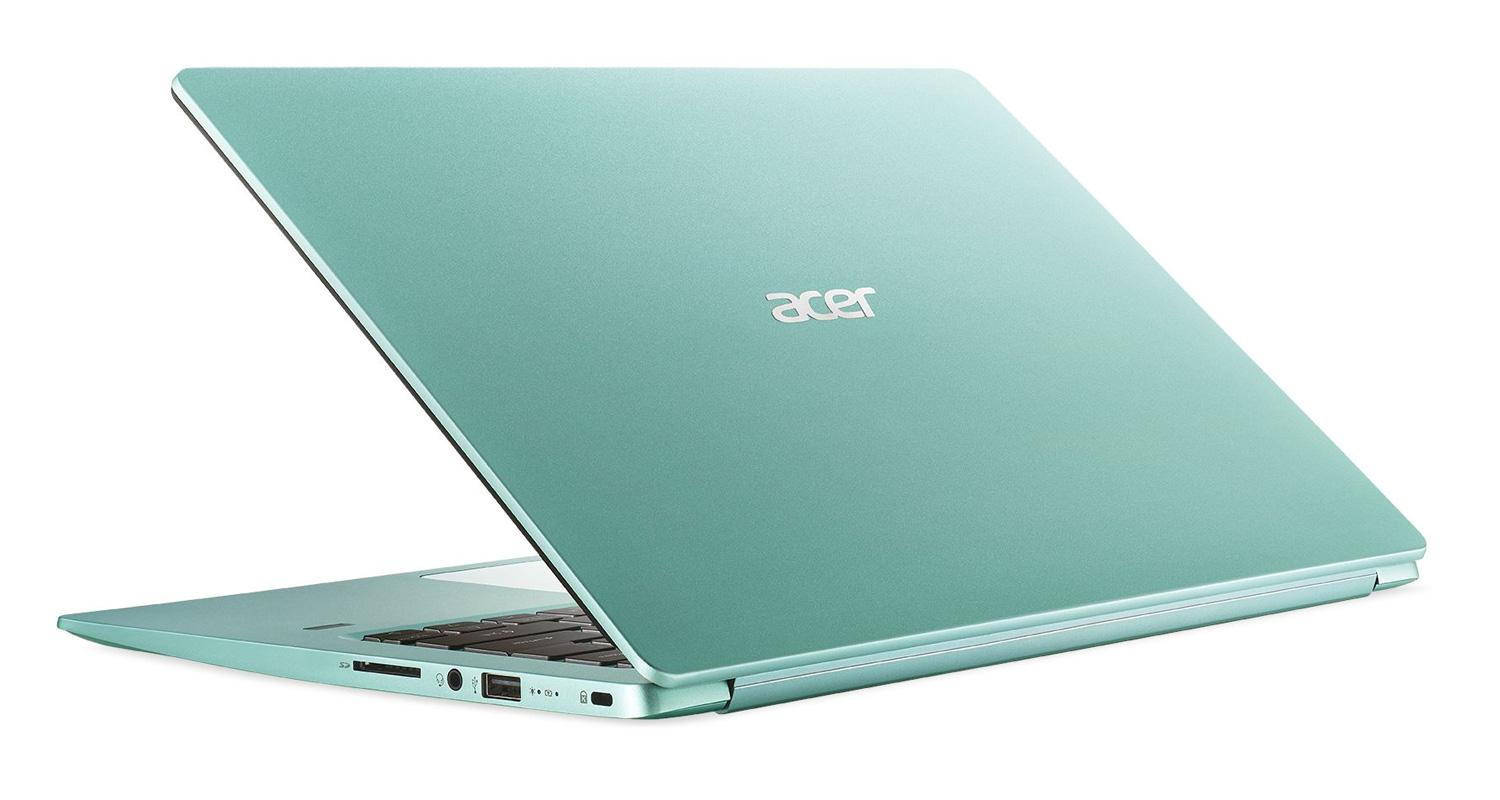 Image du PC portable Acer Swift 1 SF114-32-P5EC Vert - Gemini Lake SSD IPS