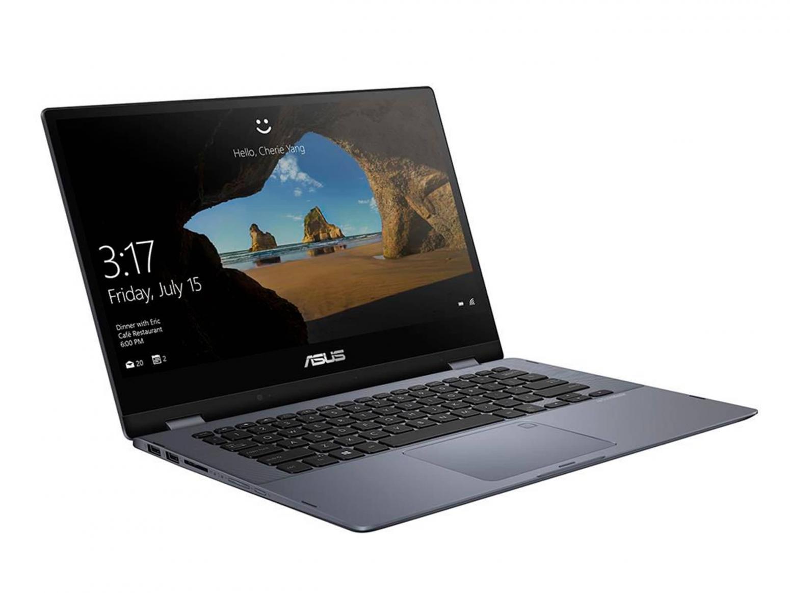Ordinateur portable Asus VivoBook Flip TP412UA-EC141T tactile Grey Metal - photo 4