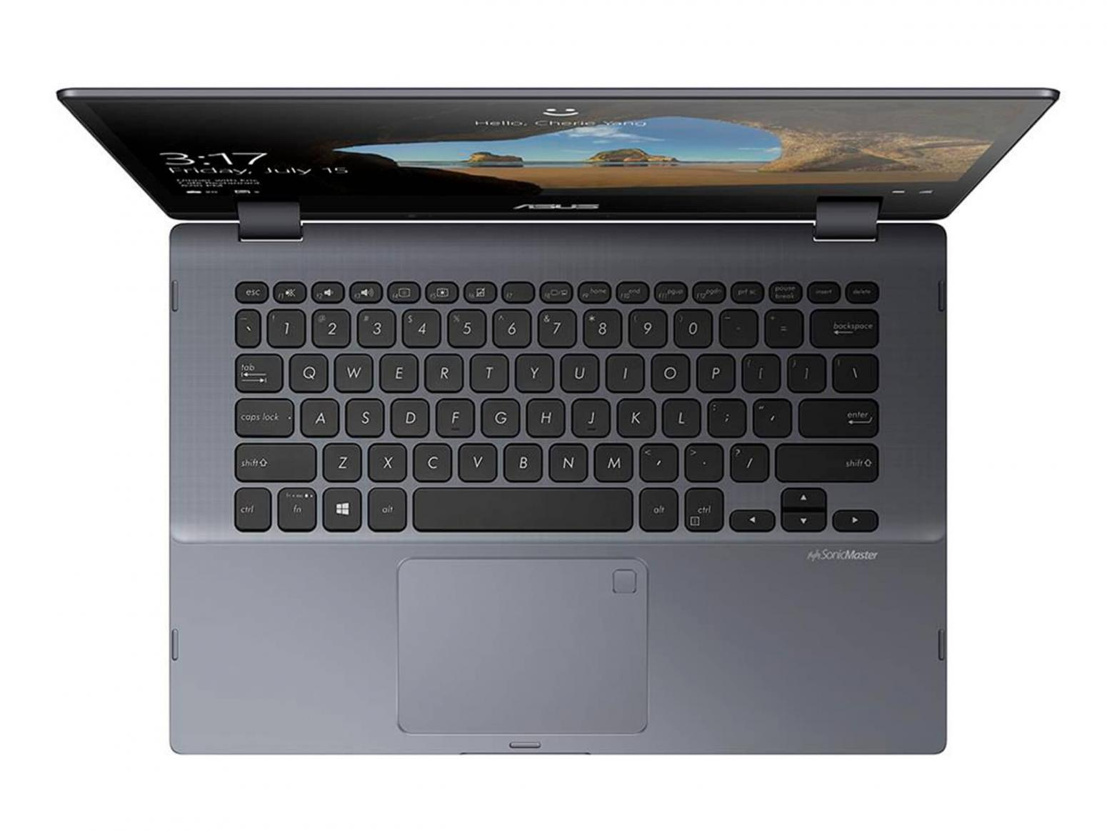 Ordinateur portable Asus VivoBook Flip TP412UA-EC141T tactile Grey Metal - photo 5