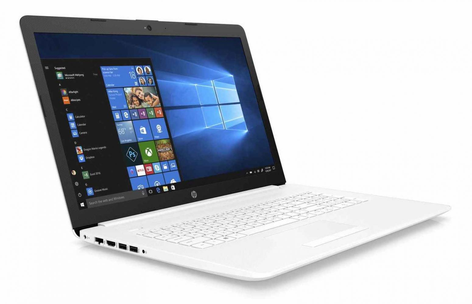 Image du PC portable HP 17-by0071nf Blanc - SSD