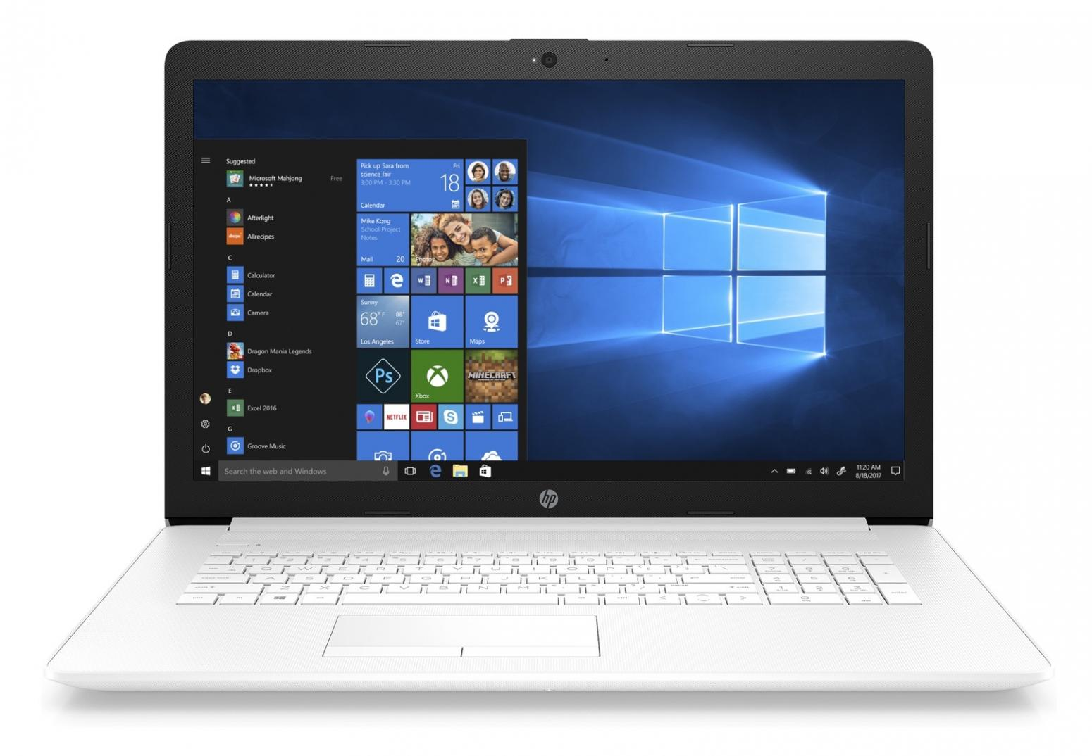 Ordinateur portable HP 17-by0071nf Blanc - SSD - photo 2