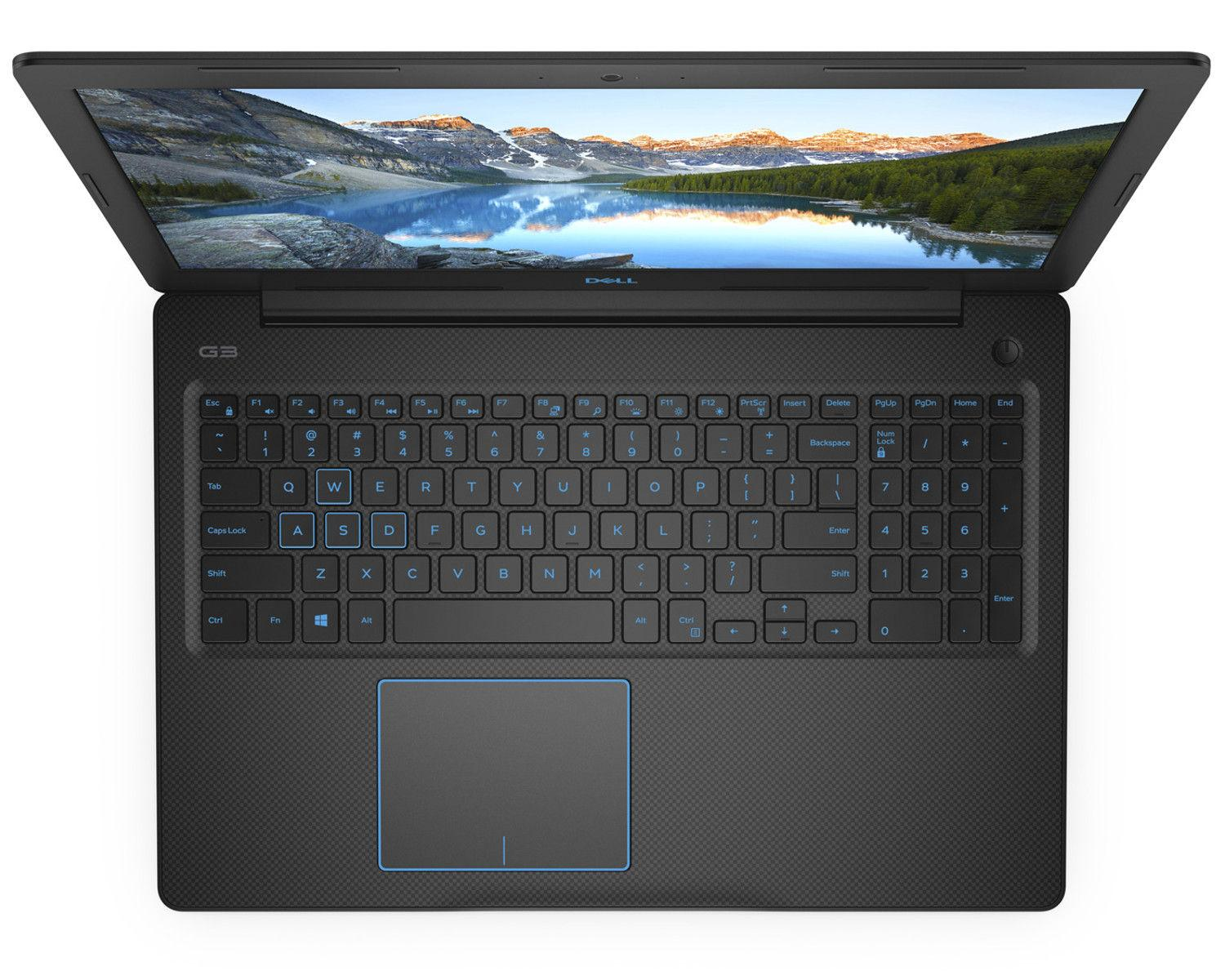 Ordinateur portable Dell Inspiron Gaming G3 17 3779 1901 (LOKI-G-17CFL1901-209-P) Noir - GTX 1060, SSD, i5 - photo 3