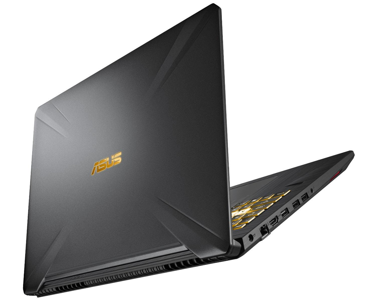 Image du PC portable Asus TUF 765GM-EV149T Noir/Gold - GTX 1060 144 Hz