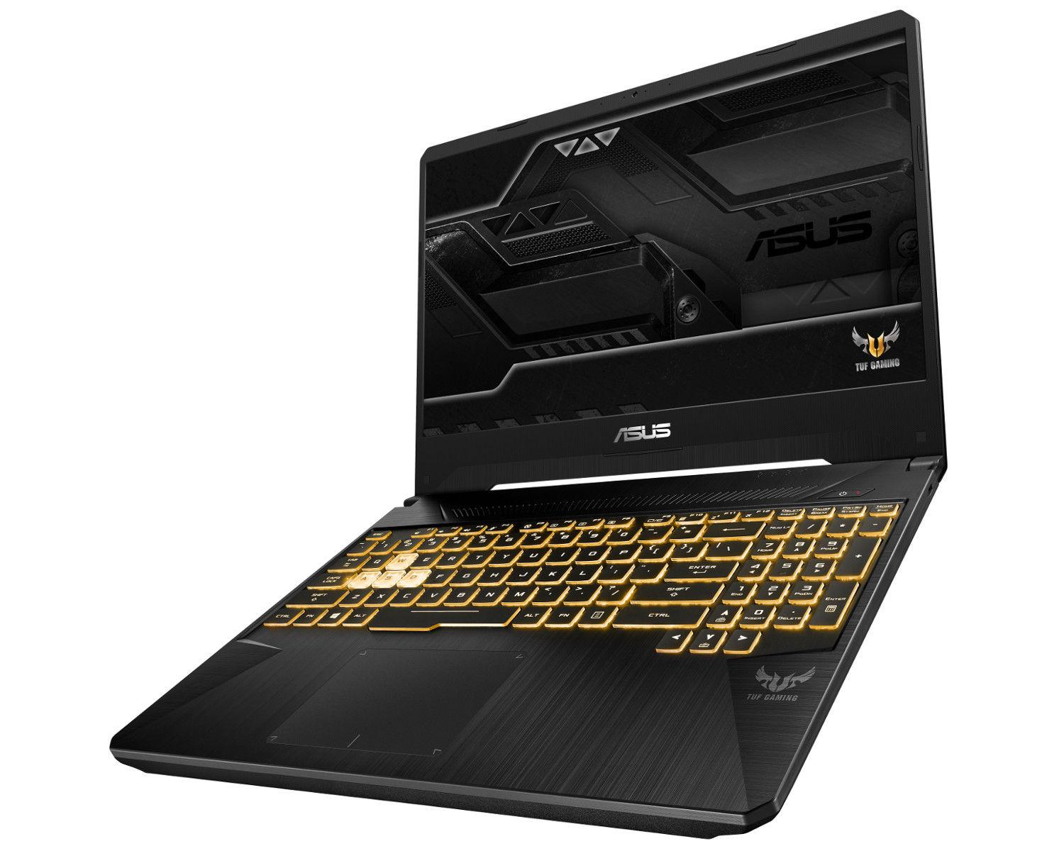 Image du PC portable Asus TUF 565GE-AL352 Noir/Gold - IPS 120Hz, GTX 1050 Ti, Sans Windows