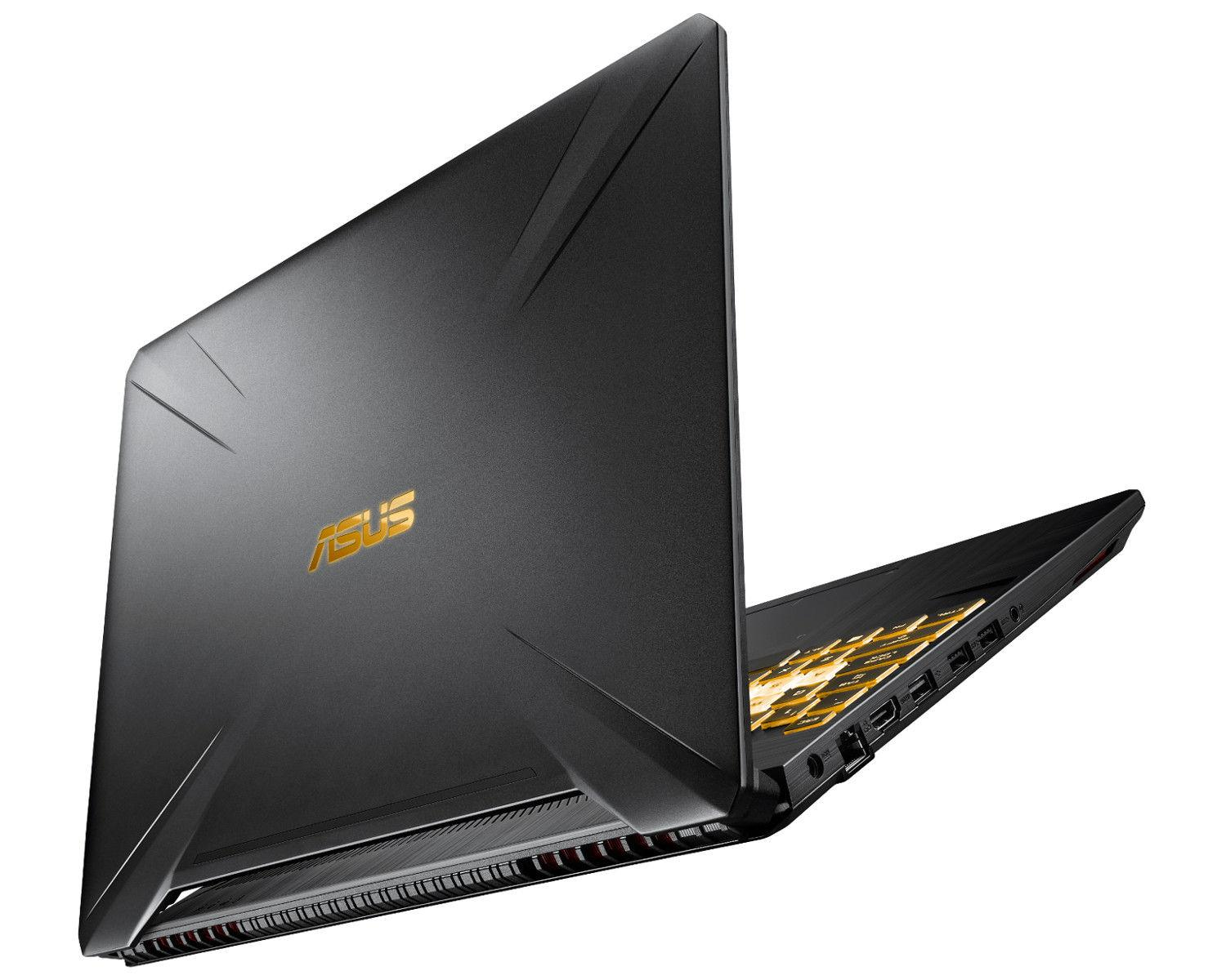 Ordinateur portable Asus TUF 565GE-AL352 Noir/Gold - IPS 120Hz, GTX 1050 Ti, Sans Windows - photo 4