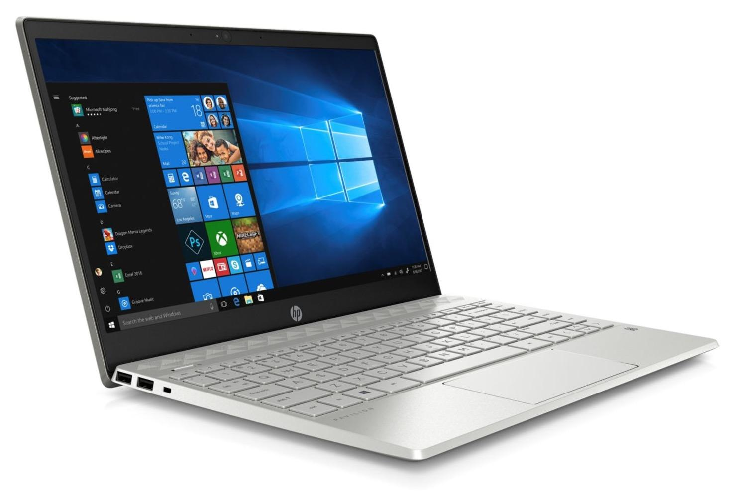 Image du PC portable HP Pavilion 13-an0003nf Argent - Whiskey Lake