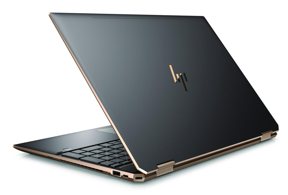 Ordinateur portable HP Spectre x360 15-df0007nf Cendre 4K Tactile - Hexa Core, GTX 1050 Ti - photo 3