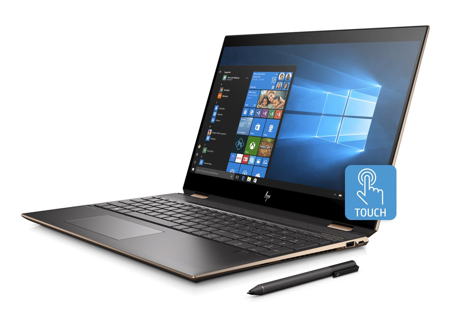 Ordinateur portable HP Spectre x360 15-df0007nf Cendre 4K Tactile - Hexa Core, GTX 1050 Ti - photo 5