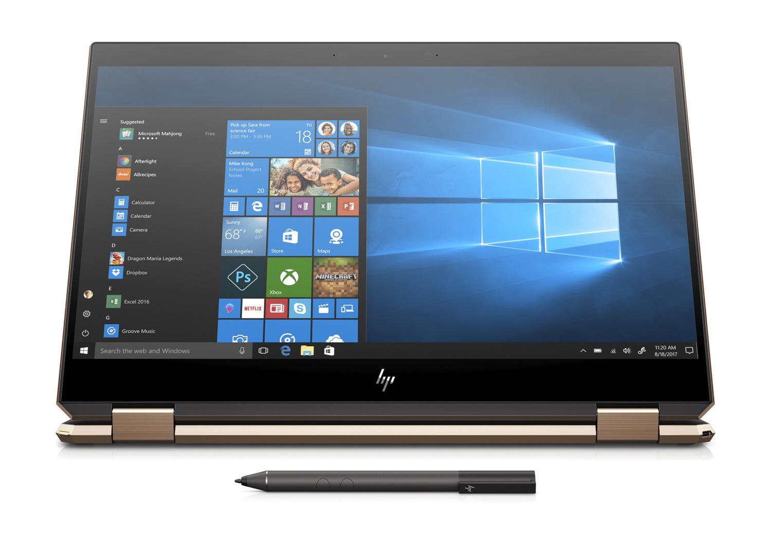 Ordinateur portable HP Spectre x360 15-df0007nf Cendre 4K Tactile - Hexa Core, GTX 1050 Ti - photo 6