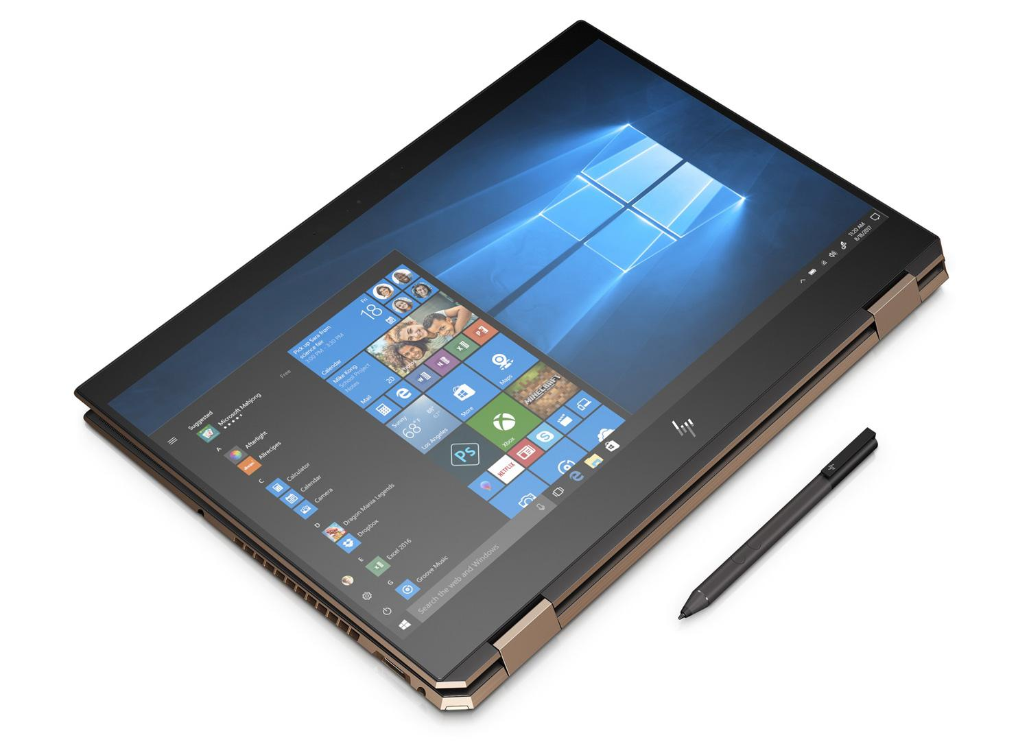 Ordinateur portable HP Spectre x360 15-df0018nf Cendre 4K Tactile - MX150 - photo 7