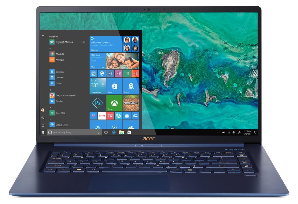 Ordinateur portable Acer Swift 5 SF515-51T-55ZM Bleu Tactile - photo 2