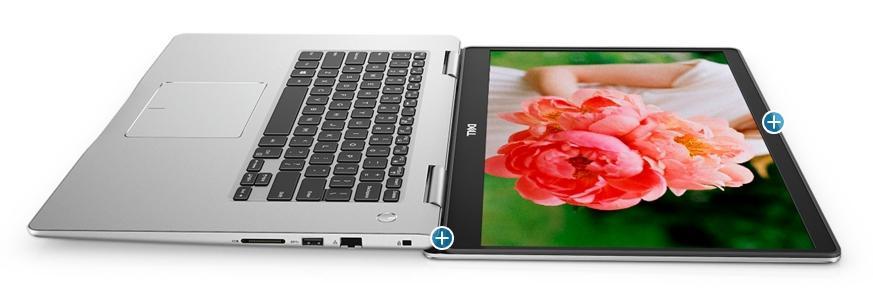 Ordinateur portable Dell Inspiron 15 7580 Argent - Quad i5 Whiskey Lake, SSD 256 Go, MX150 - photo 7
