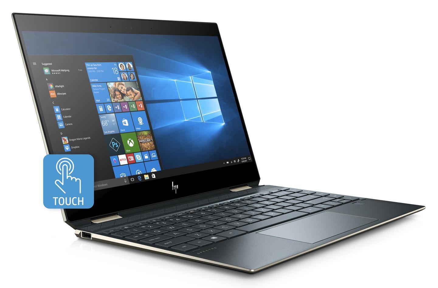 Ordinateur portable HP Spectre x360 13-ap0006nf Bleu fonce - photo 2