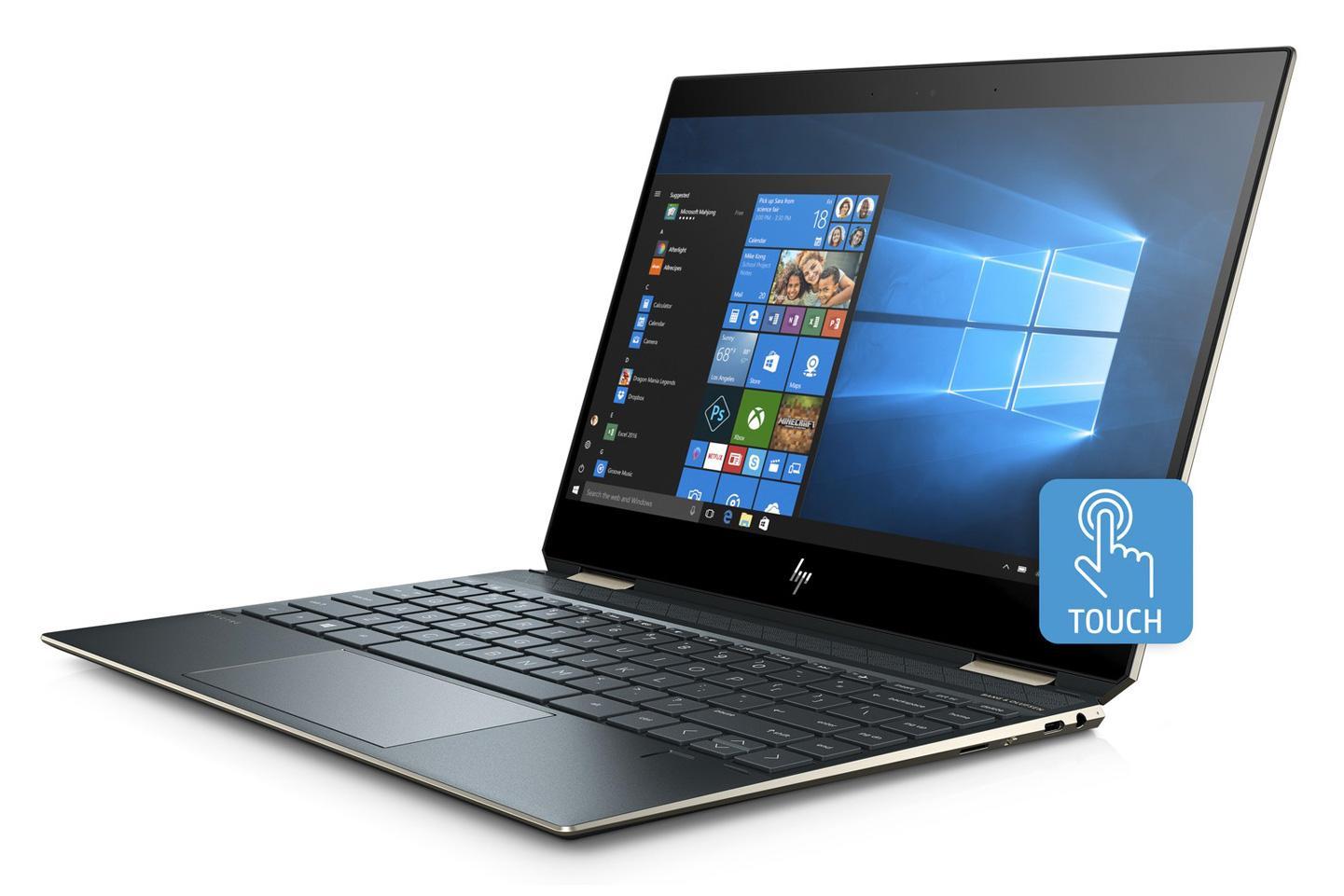 Ordinateur portable HP Spectre x360 13-ap0006nf Bleu fonce - photo 4
