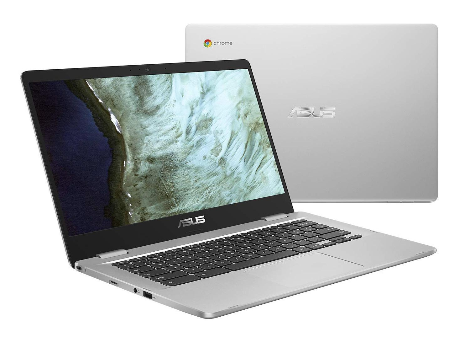 Image du PC portable Asus Chromebook C423NA-BV0047 Argent - (Chrome OS)