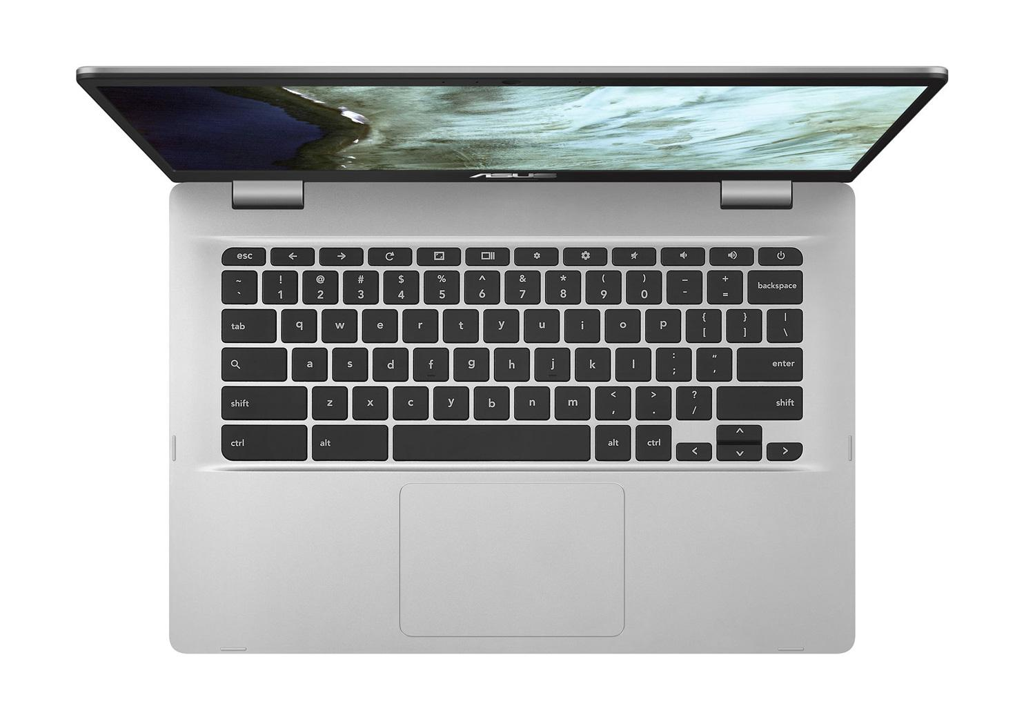 Ordinateur portable Asus Chromebook C423NA-BV0047 Argent - (Chrome OS) - photo 4