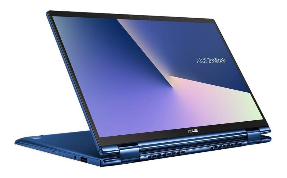 Ordinateur portable Asus ZenBook Flip UX362FA-EL020T Bleu - NumPad - photo 1